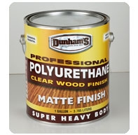 Dunham s professional polyurethane matte finish clear wood finish dunham 39 s for Exterior polyurethane wood finish